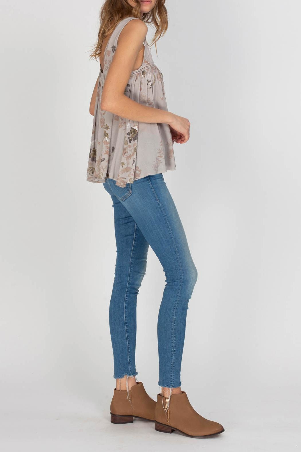 Gentle Fawn Indigo Top - Side Cropped Image