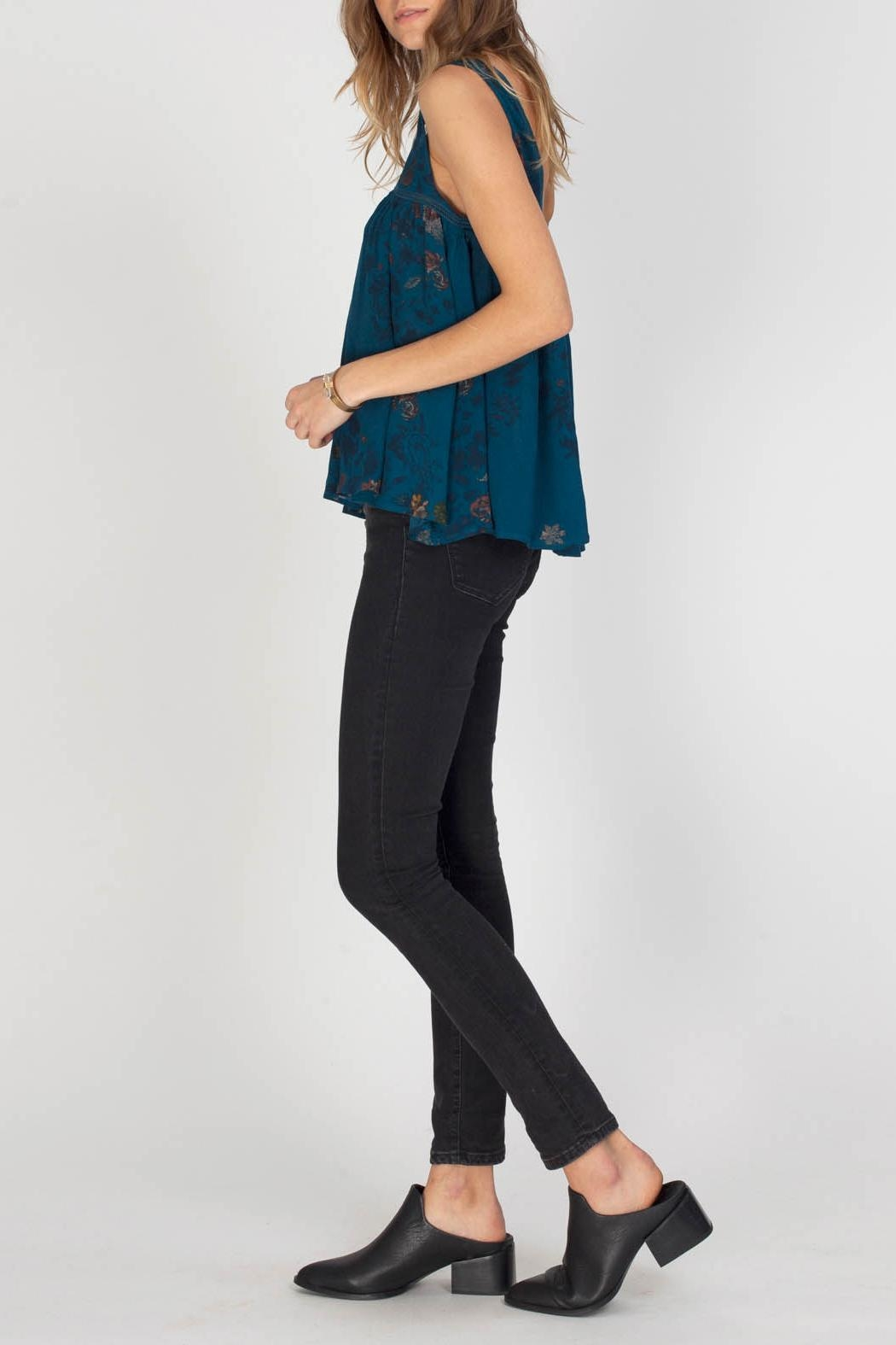 Gentle Fawn Indigo Top - Front Full Image
