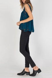 Gentle Fawn Indigo Top - Front full body