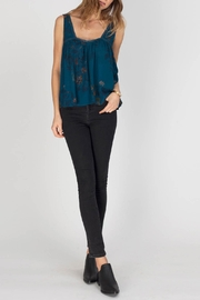 Gentle Fawn Indigo Top - Front cropped