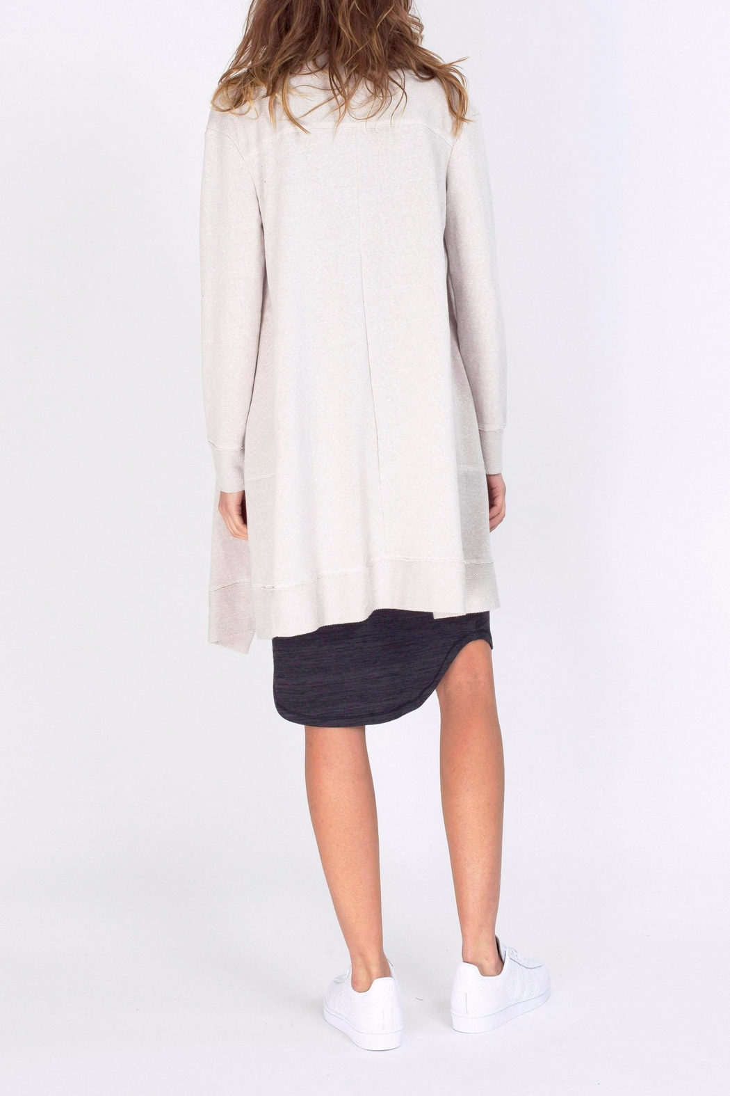 Gentle Fawn Knee Length Cardigan - Side Cropped Image