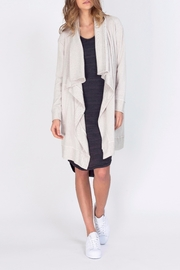 Gentle Fawn Knee Length Cardigan - Front cropped