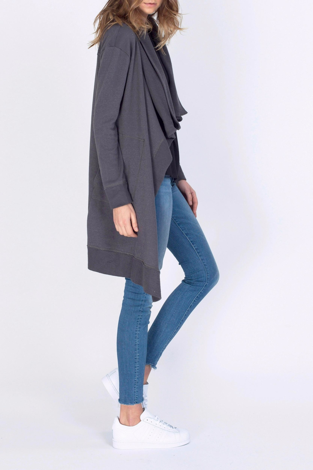 Gentle Fawn Knee Length Cardigan - Front Full Image