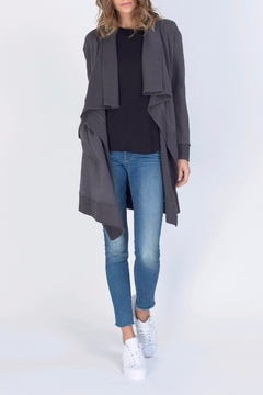 Shoptiques Product: Knee Length Cardigan