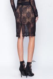 Gentle Fawn Lace Mesh Skirt - Front full body