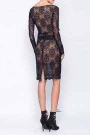Gentle Fawn Lace Mesh Skirt - Back cropped