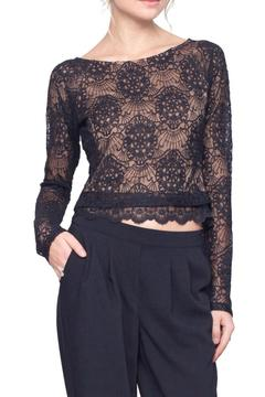 Shoptiques Product: Lace Mesh Top