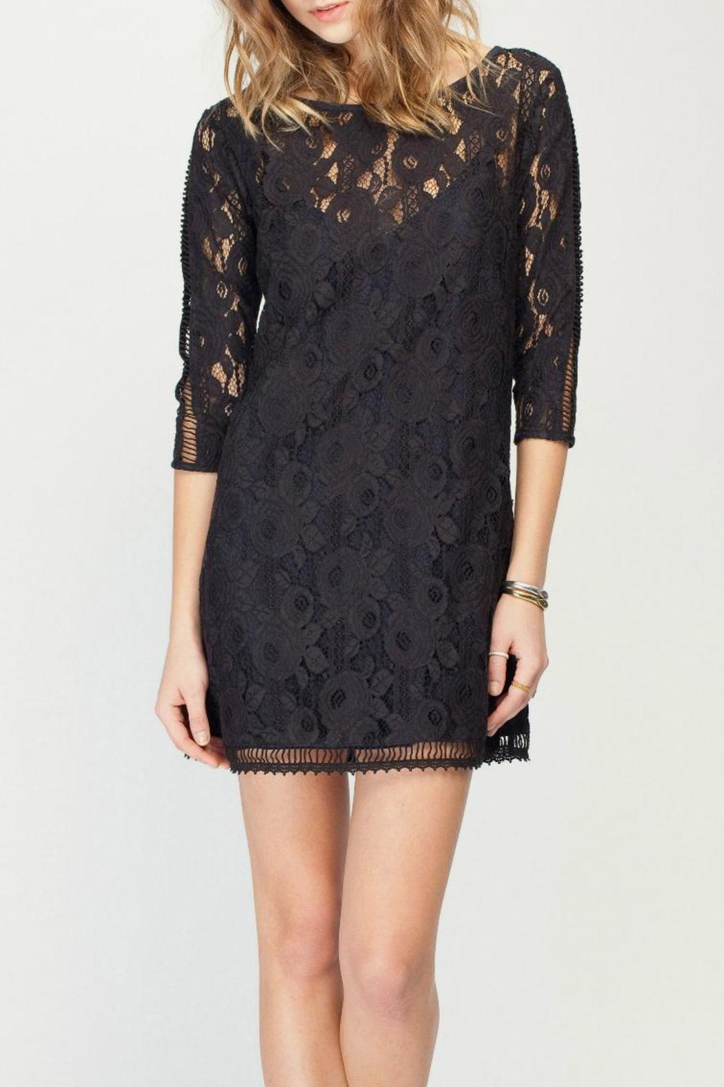 Gentle Fawn Lace Overlay Dress - Main Image