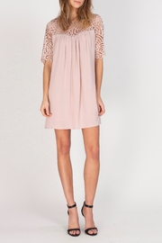 Gentle Fawn Lace Sleeve Dress - Product Mini Image