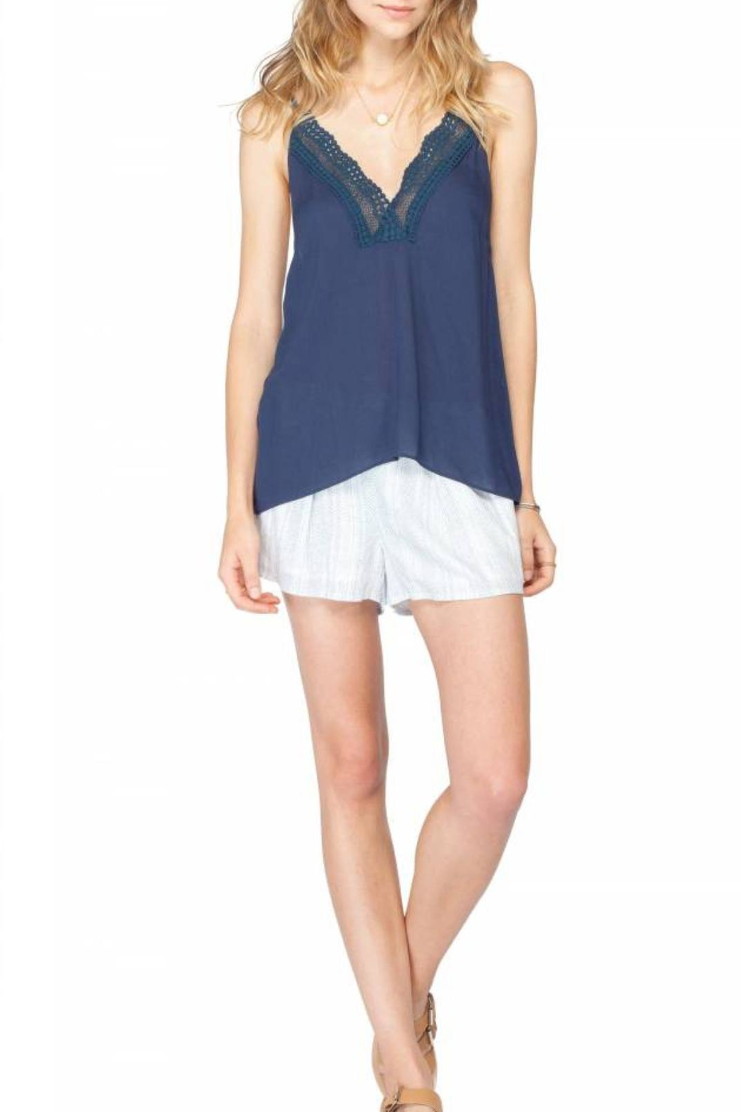 Gentle Fawn Lace Tank Top - Main Image