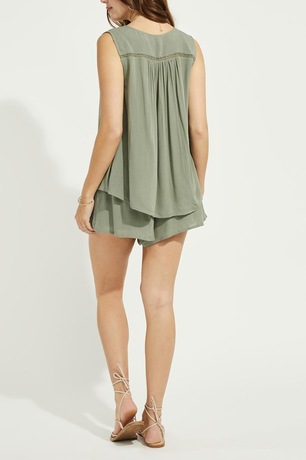 Gentle Fawn Lace Trim Tank - Side Cropped Image