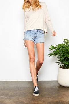 Gentle Fawn Lace Up Sweatshirt - Product List Image