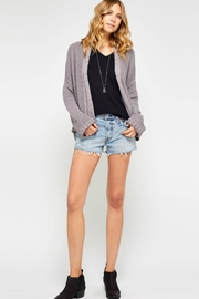 Gentle Fawn Lavender Knit Cardigan - Product Mini Image