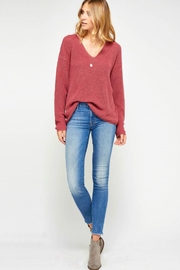 Gentle Fawn Lightweight Knit Sweater - Front cropped