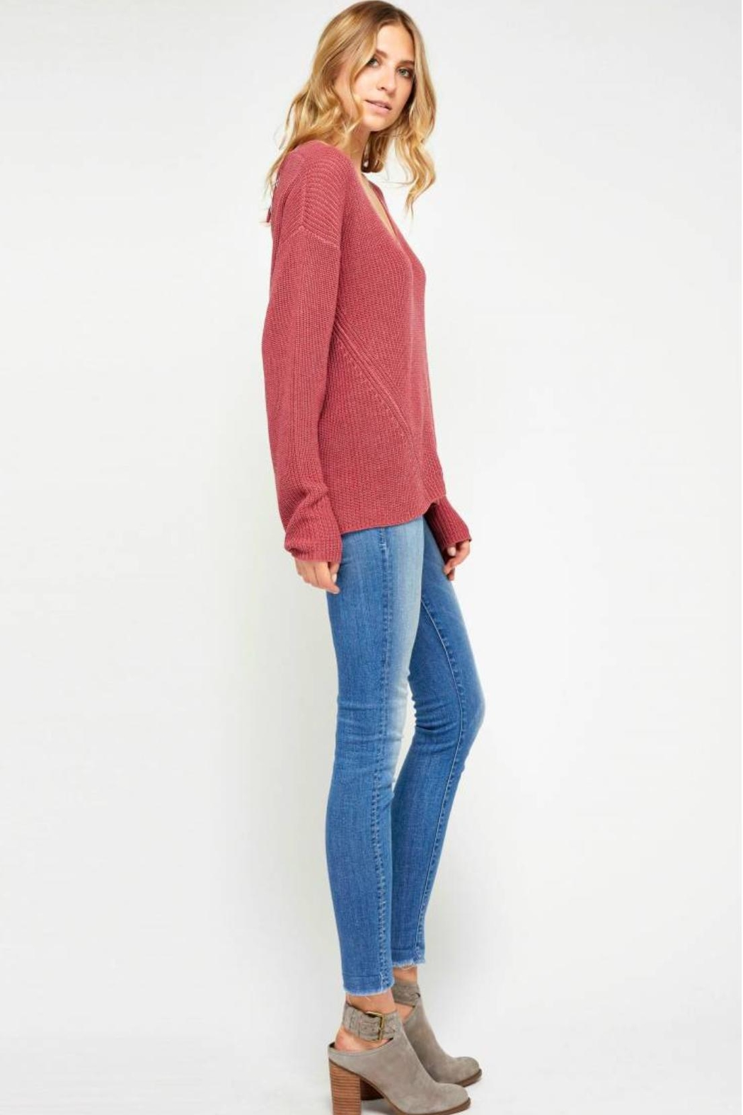 Gentle Fawn Lightweight Knit Sweater - Front Full Image