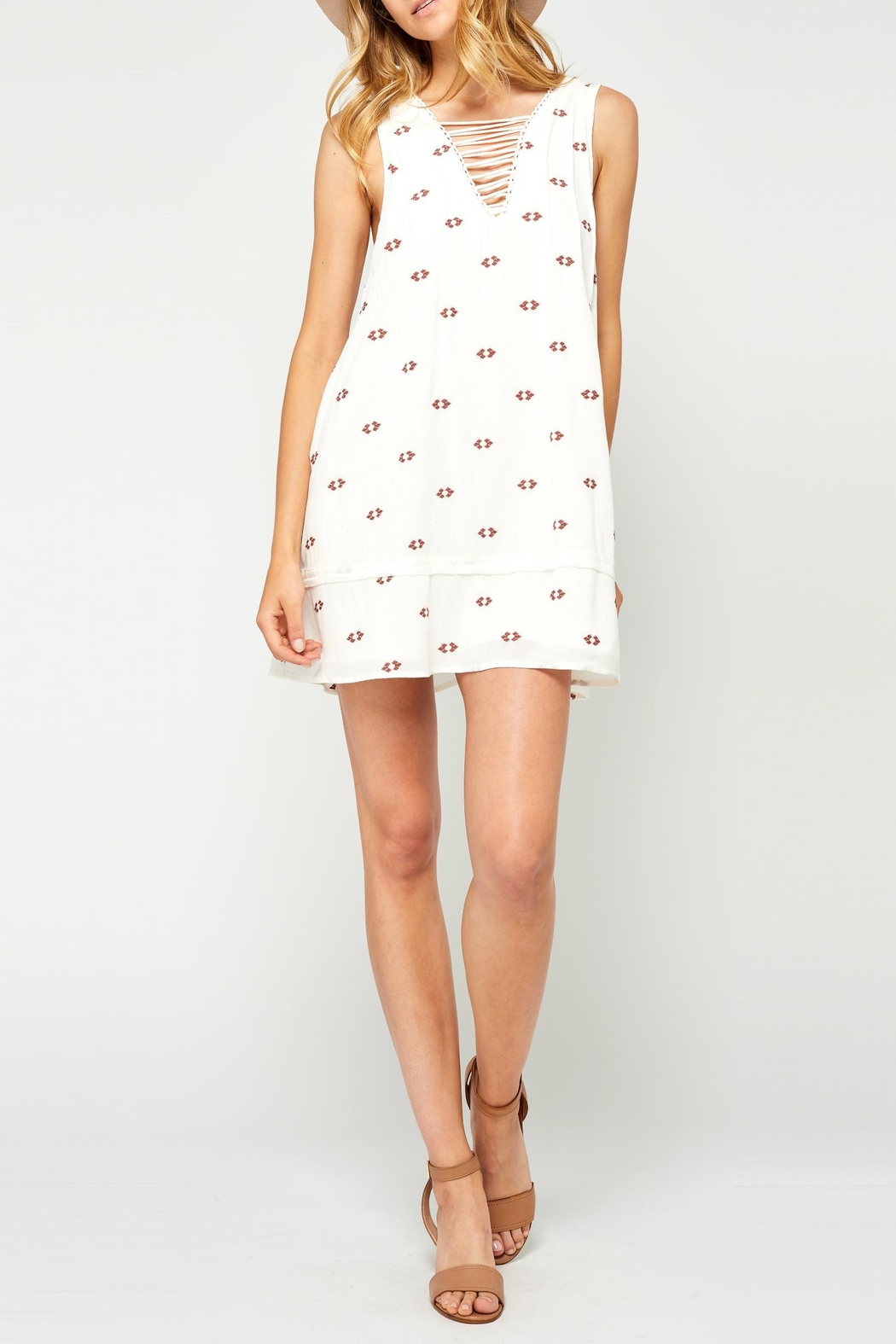 Gentle Fawn Little White Dress - Main Image