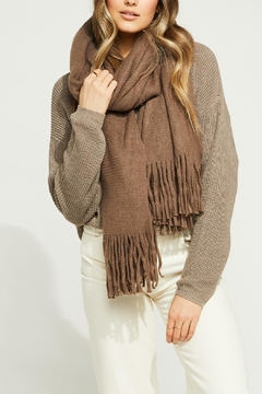 Gentle Fawn Long Fringe Scarf - Product List Image