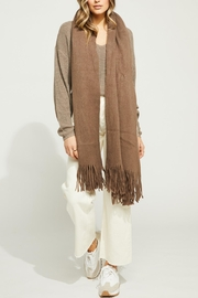 Gentle Fawn Long Fringe Scarf - Front full body