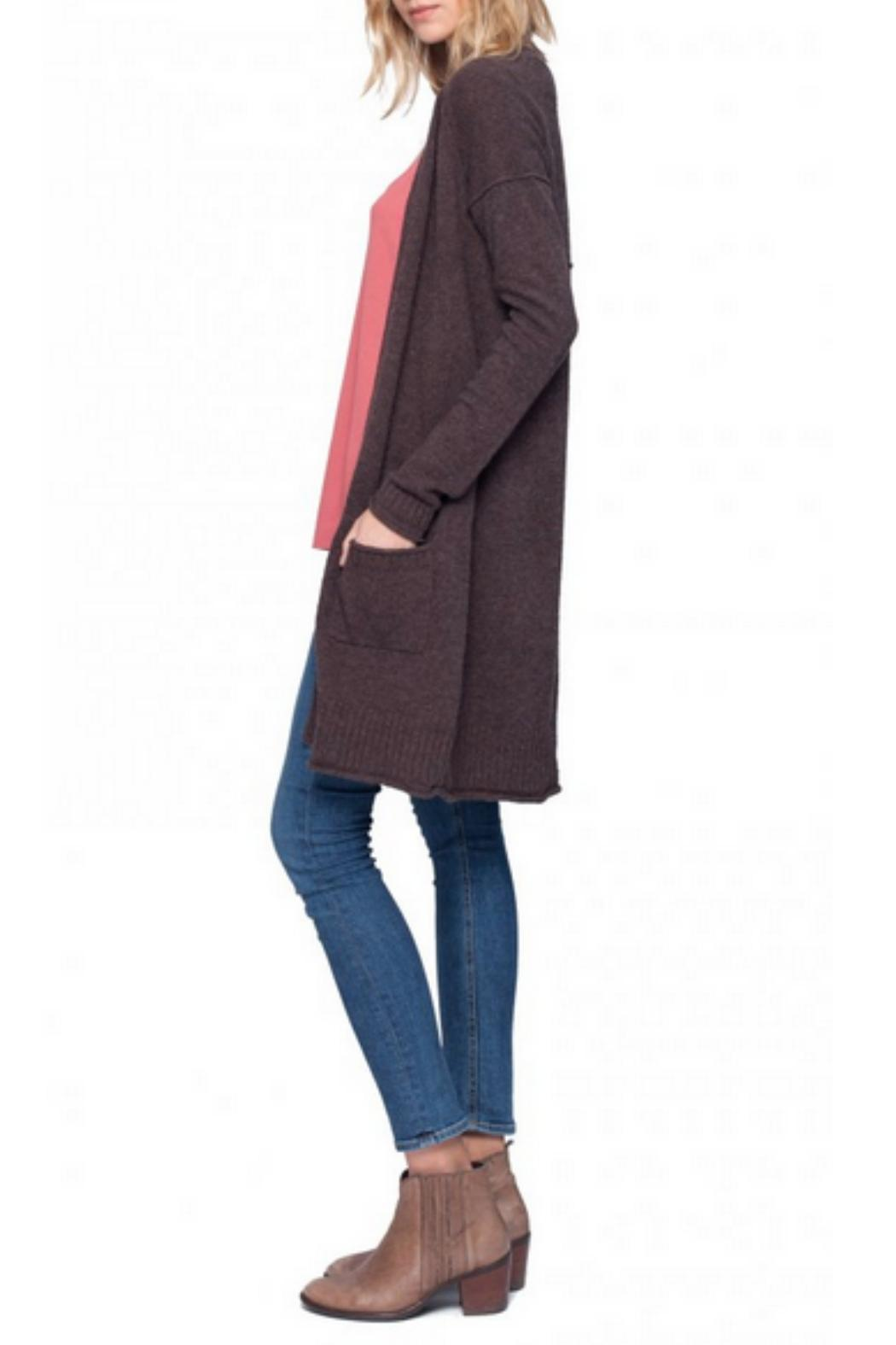 Gentle Fawn Long Open Cardigan from Canada by Miss Boss. — Shoptiques