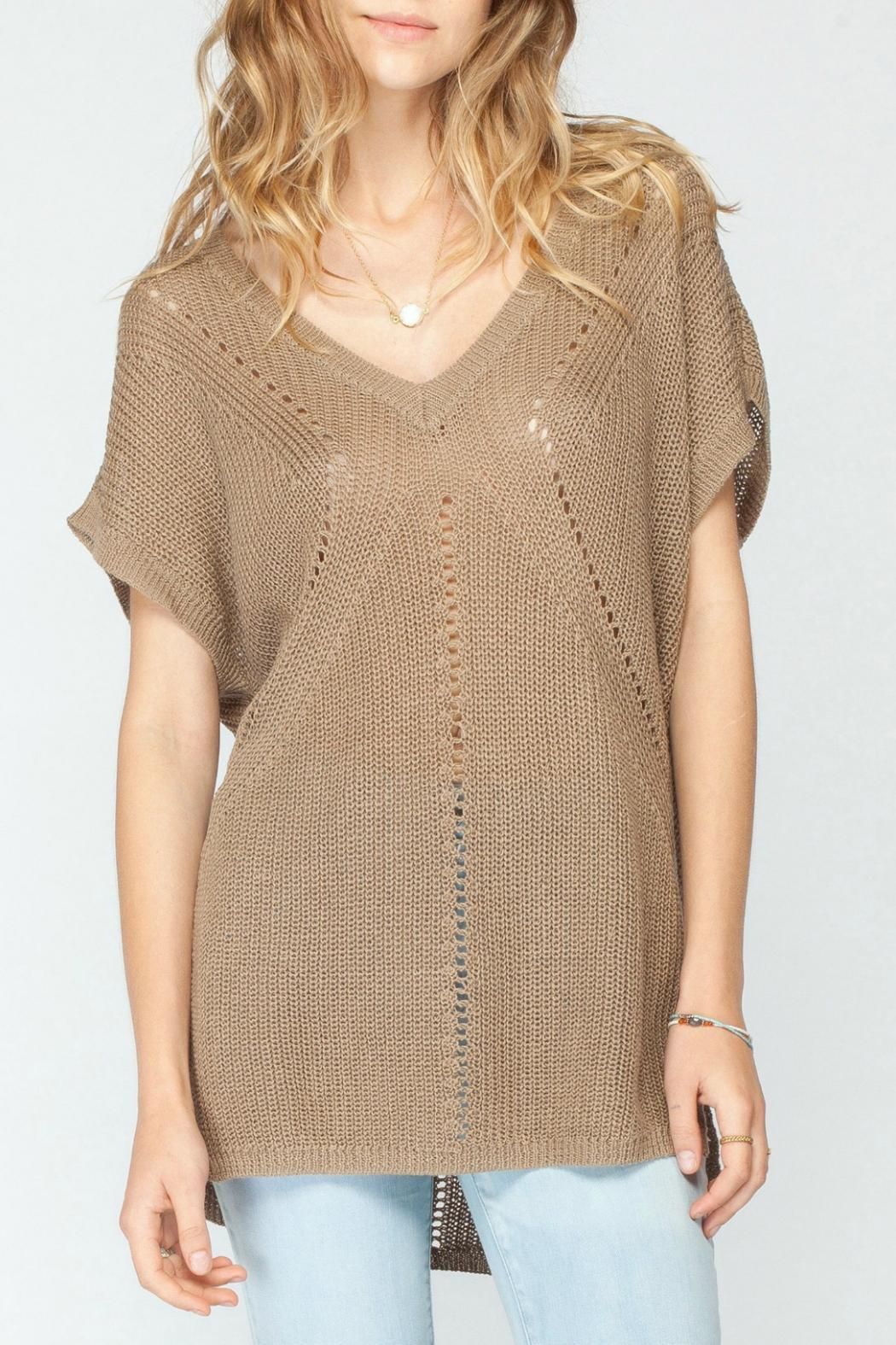 Gentle Fawn Brown Short Sleeve Sweater from Canada by Envy ...