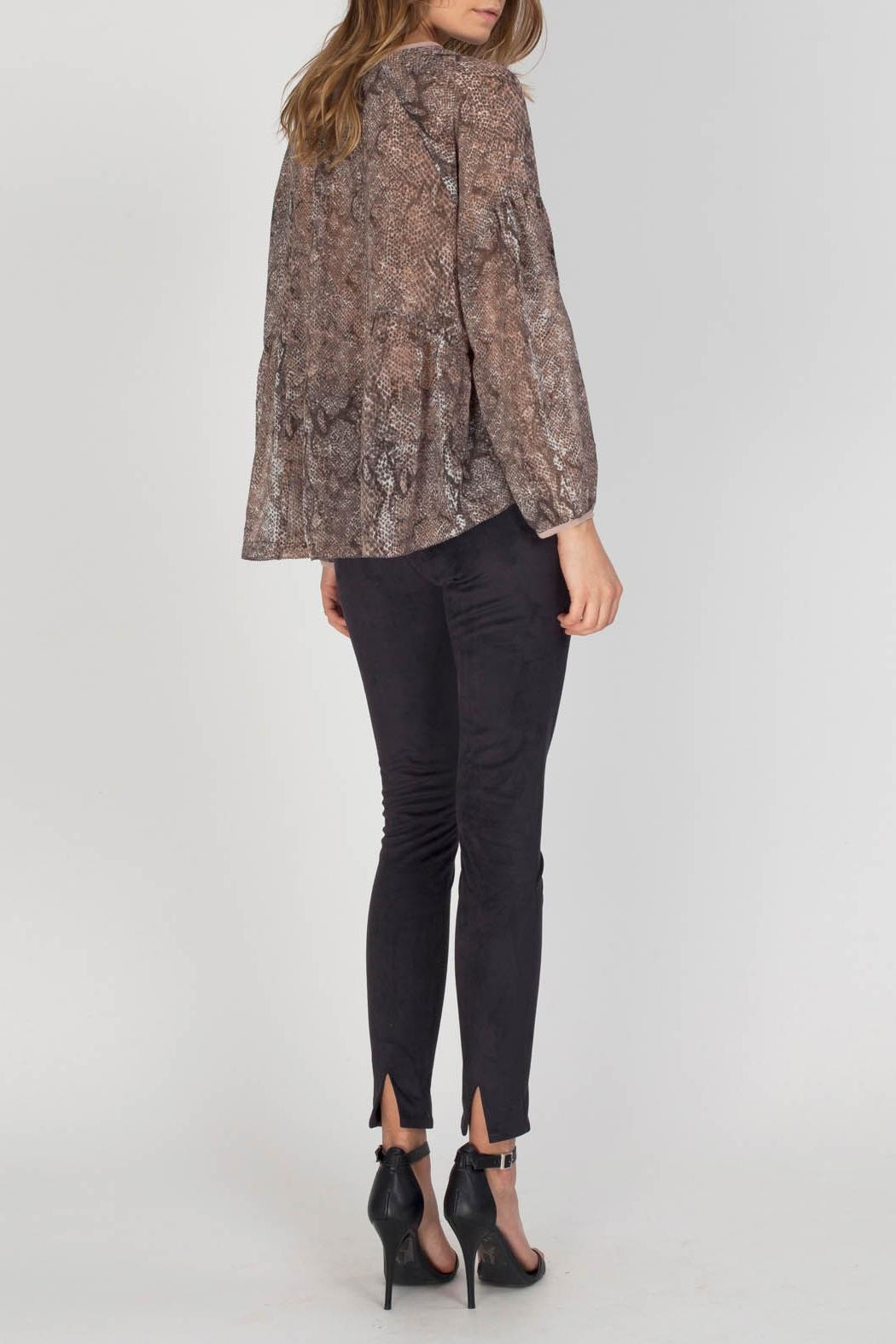 Gentle Fawn Maisie Chiffon Blouse - Side Cropped Image