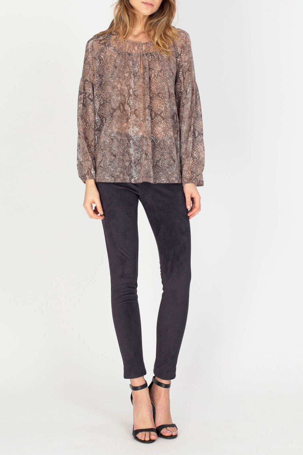 Gentle Fawn Maisie Chiffon Blouse - Front Cropped Image