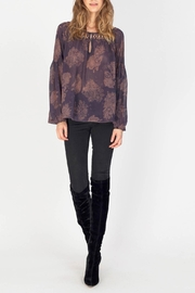 Gentle Fawn Maisie Chiffon Blouse - Front cropped