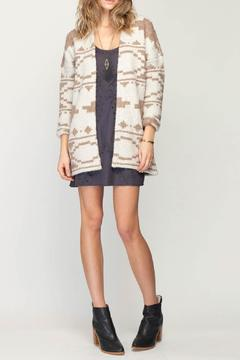 Gentle Fawn Marble Reversible Cardi - Product List Image