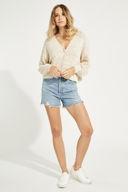 Gentle Fawn Melody Cotton Cardigan - Back cropped