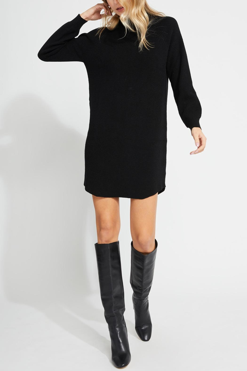 Gentle Fawn Mid-Thigh Sweater Dress - Main Image