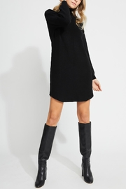 Gentle Fawn Mid-Thigh Sweater Dress - Front full body