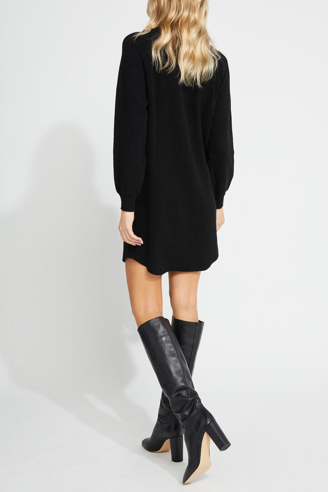 Gentle Fawn Mid-Thigh Sweater Dress - Side Cropped Image