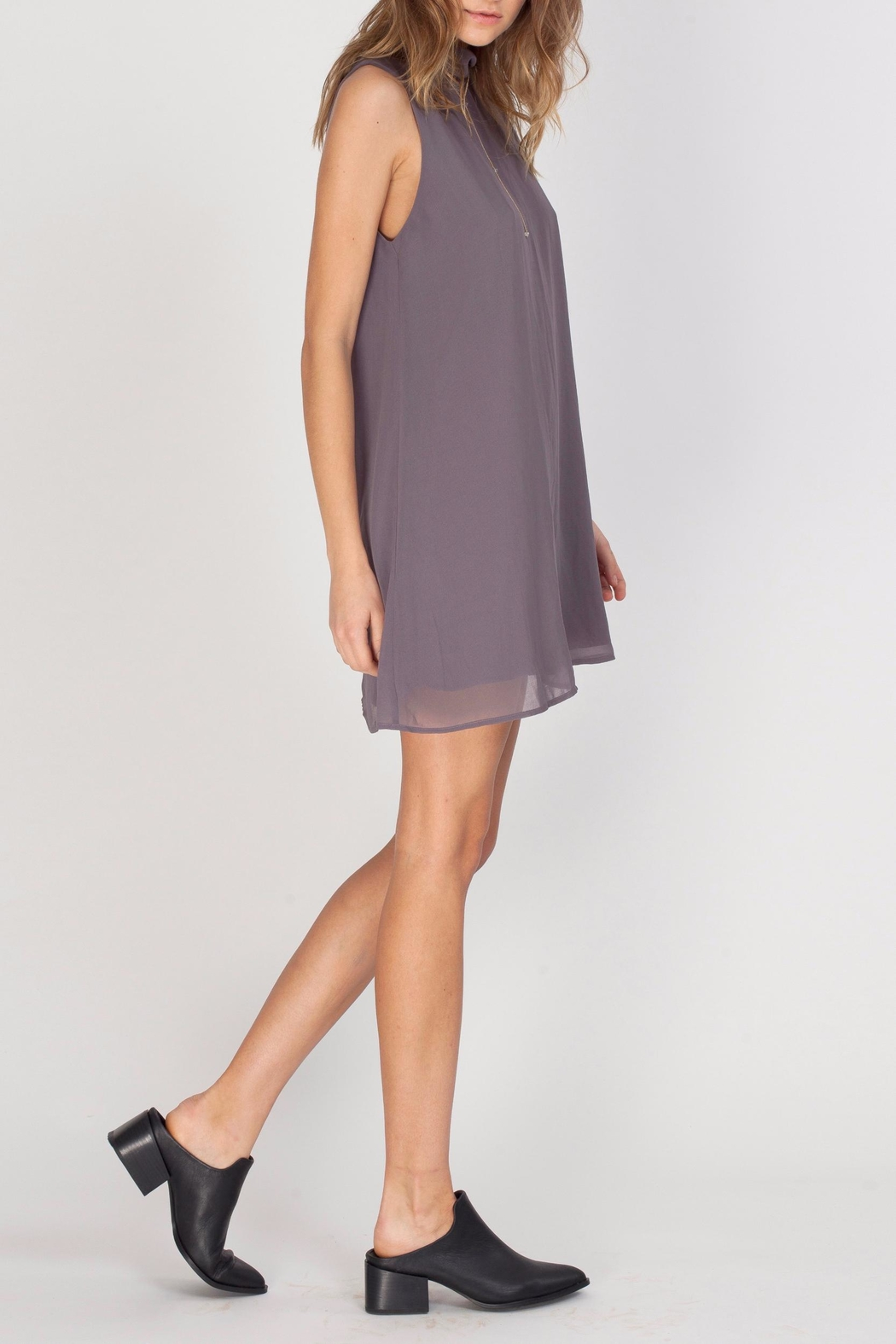 Gentle Fawn Mock Neck Dress - Side Cropped Image