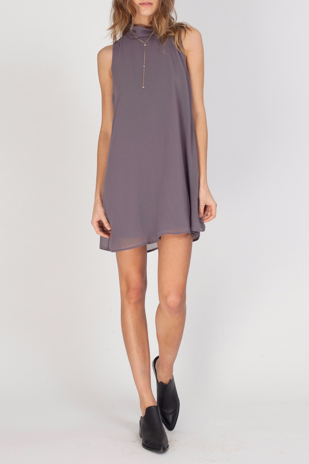 Gentle Fawn Mock Neck Dress - Front Full Image