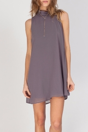 Gentle Fawn Mock Neck Dress - Product Mini Image