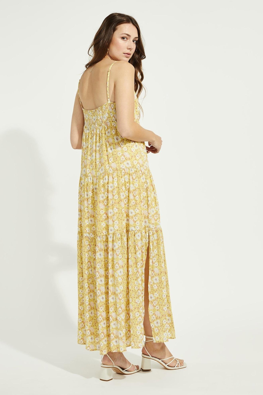 Gentle Fawn Monterey Floral Maxi Dress - Front Full Image