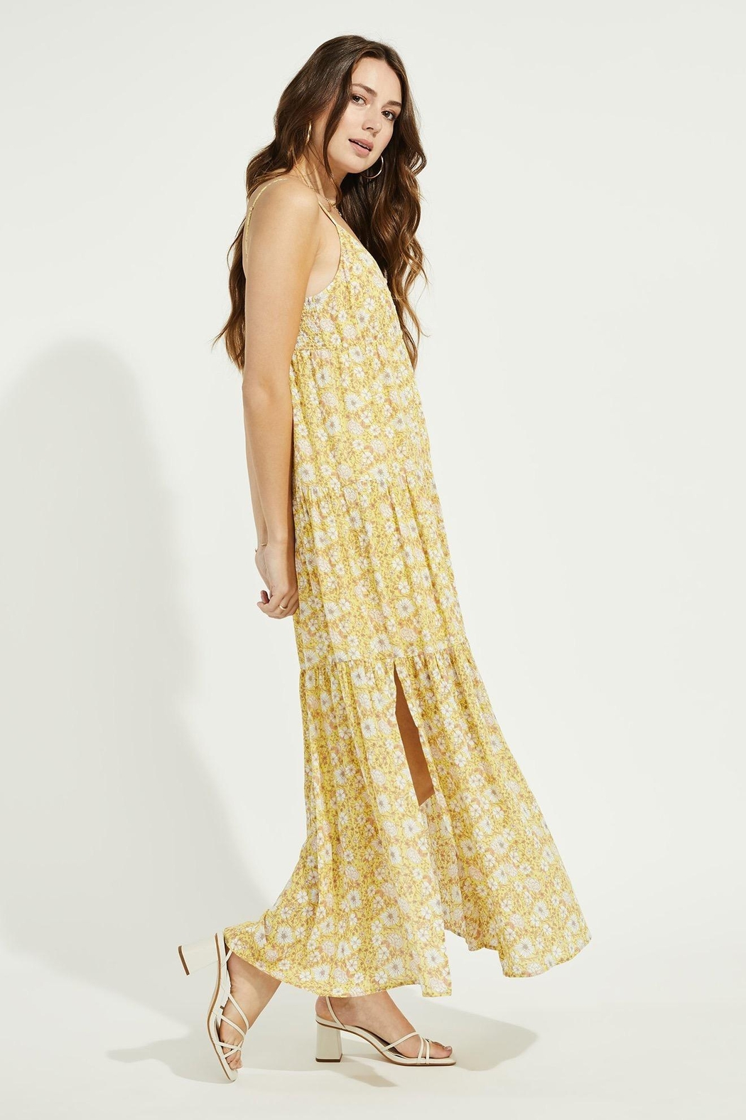 Gentle Fawn Monterey Floral Maxi Dress - Side Cropped Image