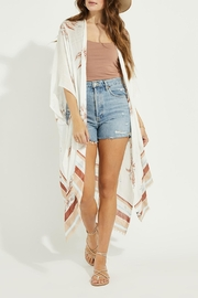 Gentle Fawn Mosaic Cover Up - Front cropped