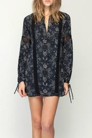 Gentle Fawn Mosaic Print Dress - Front cropped