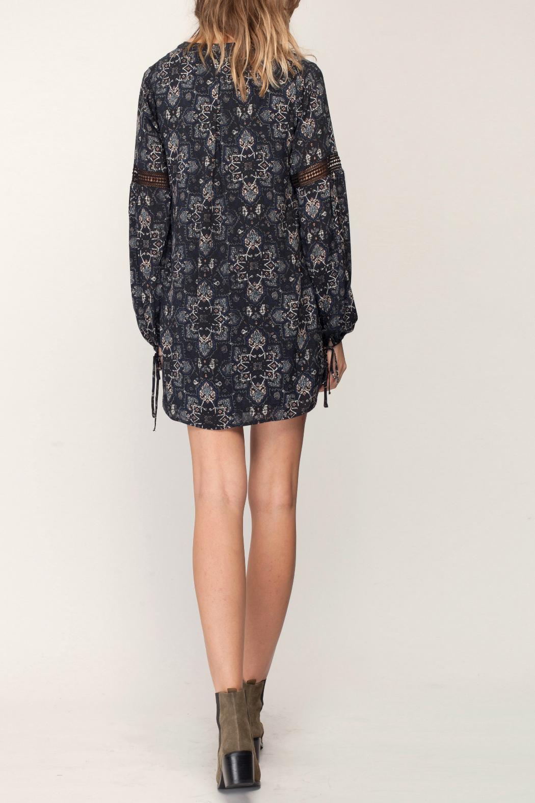 Gentle Fawn Mosaic Print Dress - Back Cropped Image