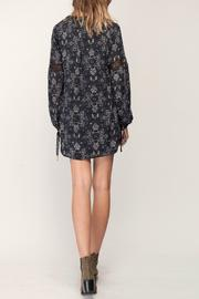Gentle Fawn Mosaic Print Dress - Back cropped