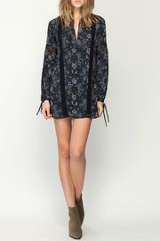 Gentle Fawn Mosaic Print Dress - Front full body