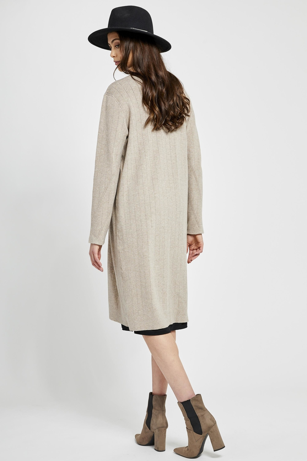 Gentle Fawn Moscato Long Cardigan - Side Cropped Image