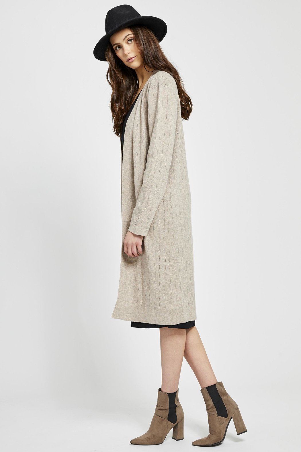 Gentle Fawn Moscato Long Cardigan - Front Full Image