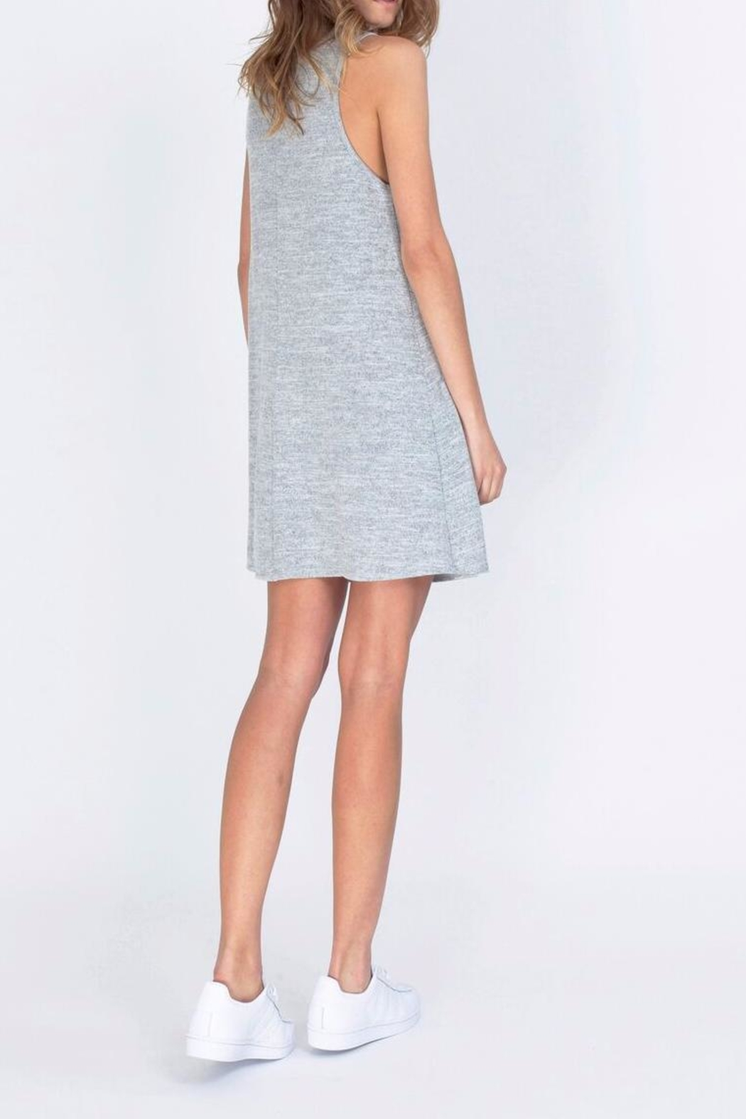 Gentle Fawn Motivated Gray Dress - Side Cropped Image