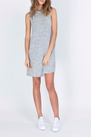 Gentle Fawn Motivated Gray Dress - Front full body