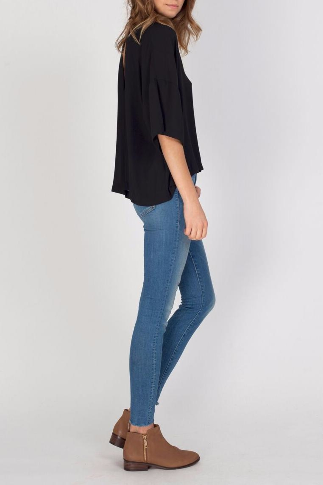 Gentle Fawn Black Andrea Top - Front Full Image