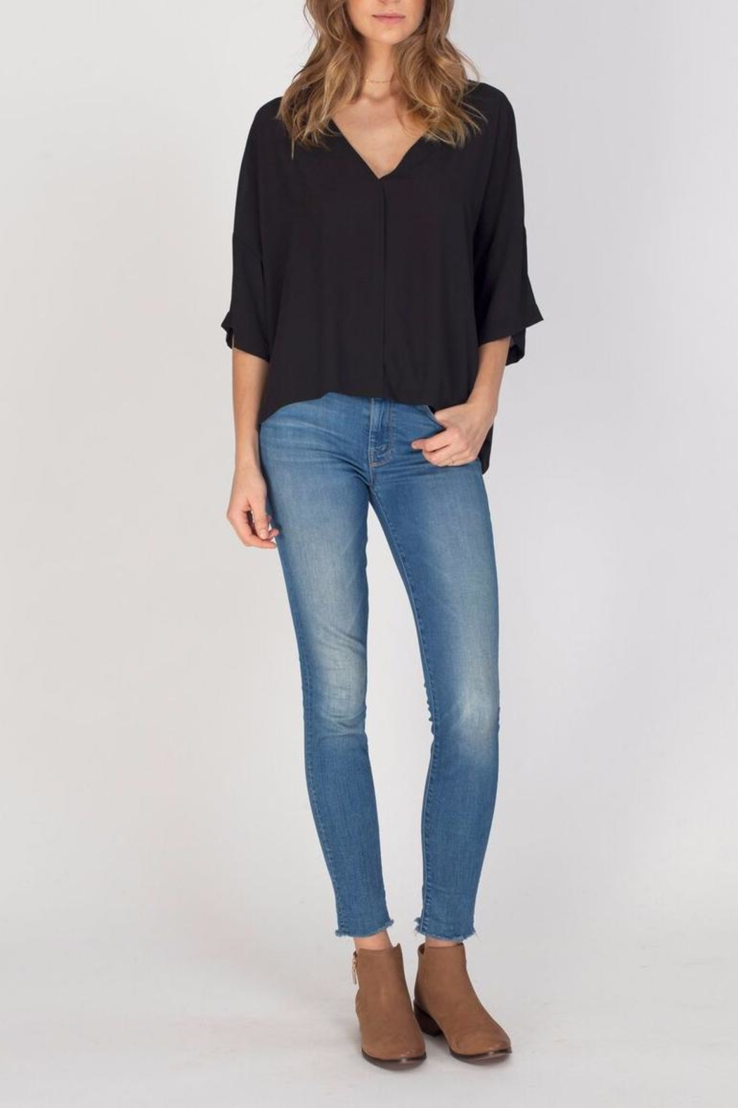 Gentle Fawn Black Andrea Top - Main Image
