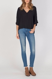 Gentle Fawn Black Andrea Top - Side cropped