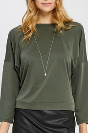 Gentle Fawn Open Back Blouse - Product Mini Image